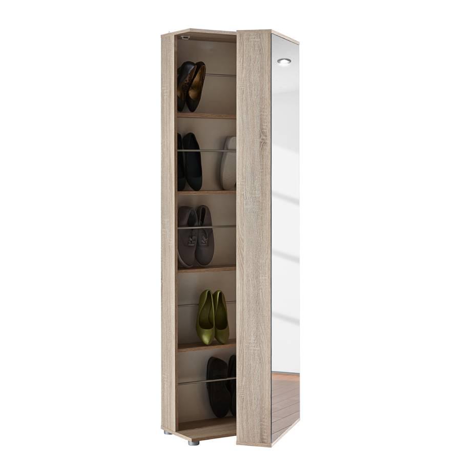 schuhschrank kalies eiche sonoma dekor home24. Black Bedroom Furniture Sets. Home Design Ideas