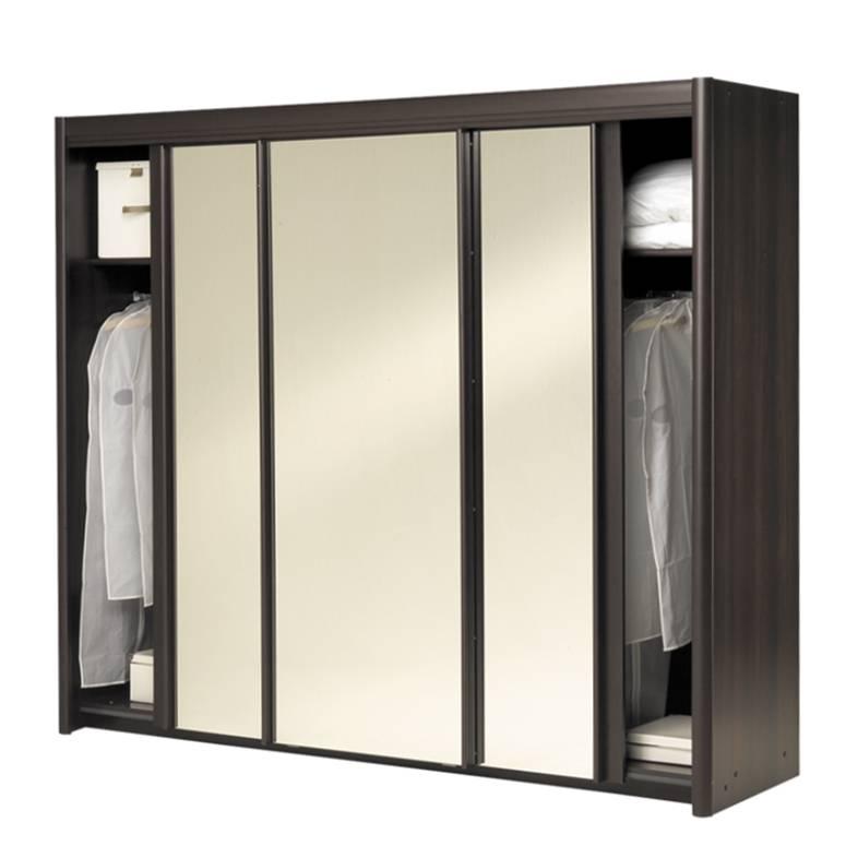 schwebet renschrank bario wenge dekor spiegelt ren. Black Bedroom Furniture Sets. Home Design Ideas
