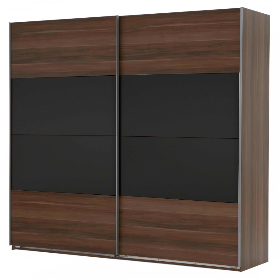 armoire portes coulissantes cannes noyer fran ais. Black Bedroom Furniture Sets. Home Design Ideas