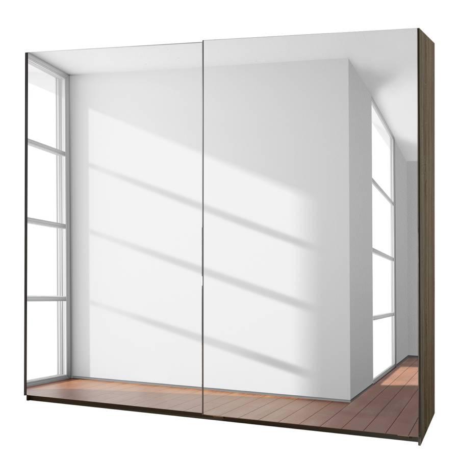 Armoire portes coulissantes frame i miroir - Armoire dressing portes coulissantes miroir ...