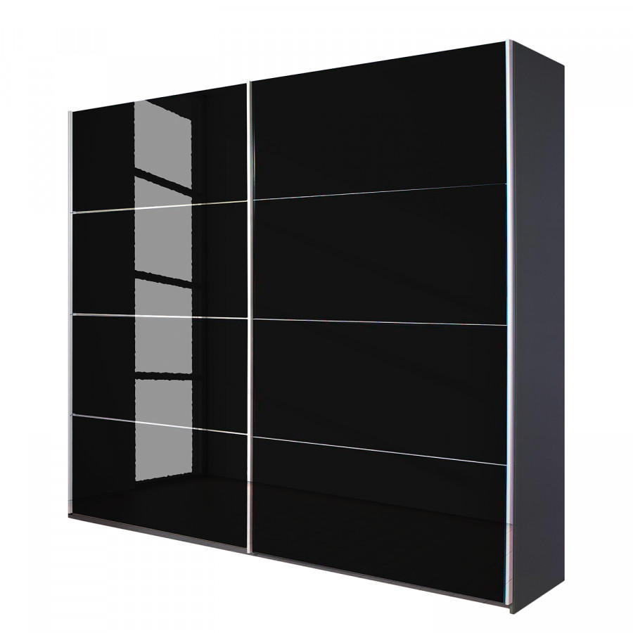 armoire coulissante noir maison design. Black Bedroom Furniture Sets. Home Design Ideas