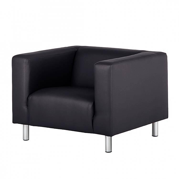 sessel barletta kunstleder schwarz home24. Black Bedroom Furniture Sets. Home Design Ideas