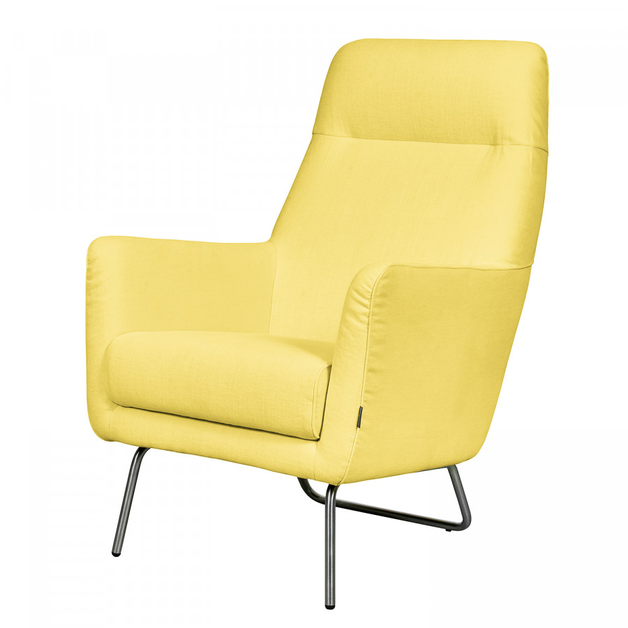 Stylish sessel bebour von says who in gelb mit hoher - Home 24 sessel ...