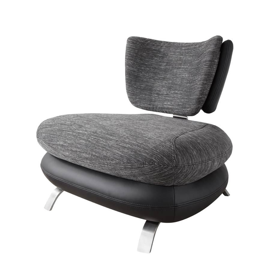 Modoform einzelsessel f r ein modernes zuhause home24 for Sessel grau stoff