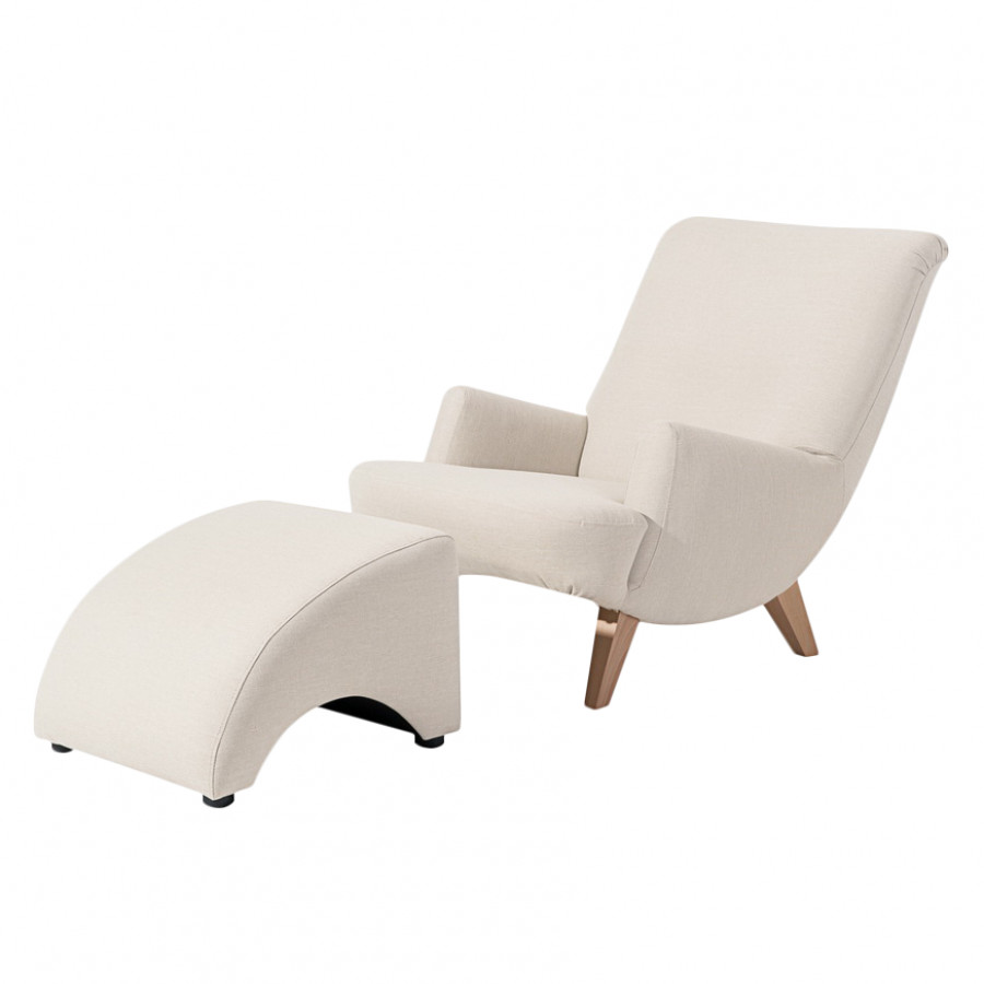 Sessel und hocker set von m rteens bei home24 bestellen for Landhaussessel mit hocker