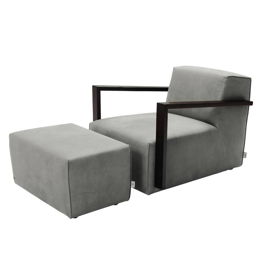 Einzelsessel von tom tailor bei home24 bestellen home24 for Sessel mit hocker grau