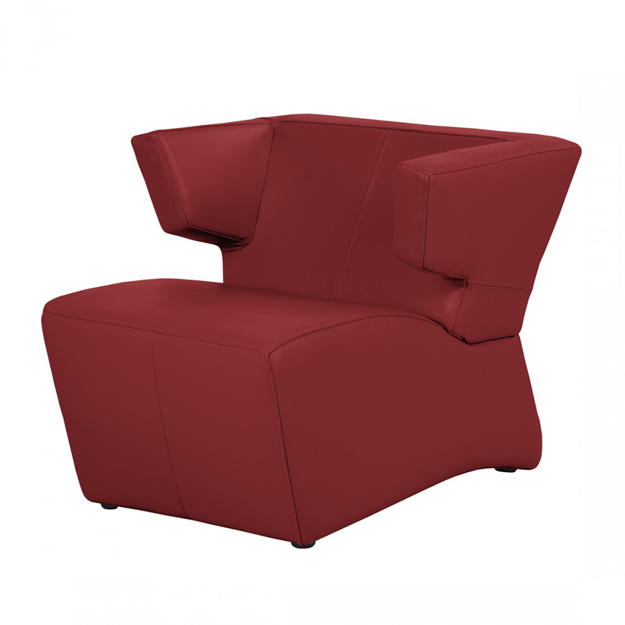sessel rot leder angebote auf waterige. Black Bedroom Furniture Sets. Home Design Ideas