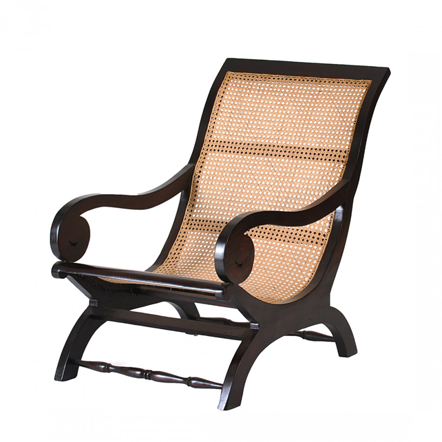sessel rokoko akazie massivholz geflecht home24. Black Bedroom Furniture Sets. Home Design Ideas
