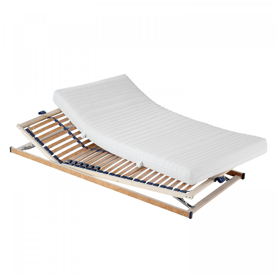 set 7 zonen kaltschaummatratze anna lattenrost ben. Black Bedroom Furniture Sets. Home Design Ideas