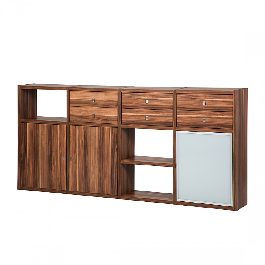 Buffet bas empire 3 portes 6 tiroirs for Sideboard lindholm iii
