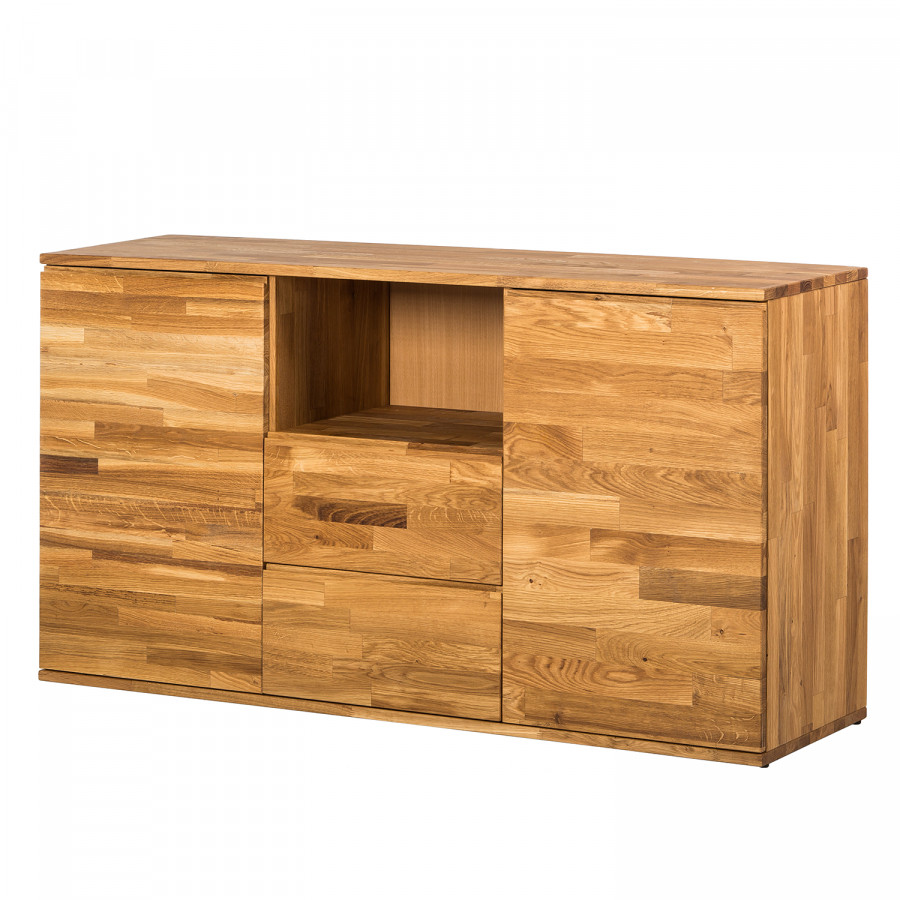 Sideboard Eiche Massiv : Sideboard StenWood - Eiche Massiv  Home24
