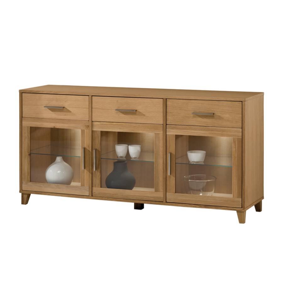 sideboard girona eiche massivholz home24. Black Bedroom Furniture Sets. Home Design Ideas