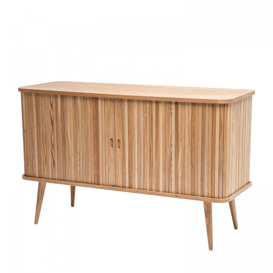 sideboard hollola esche massiv. Black Bedroom Furniture Sets. Home Design Ideas