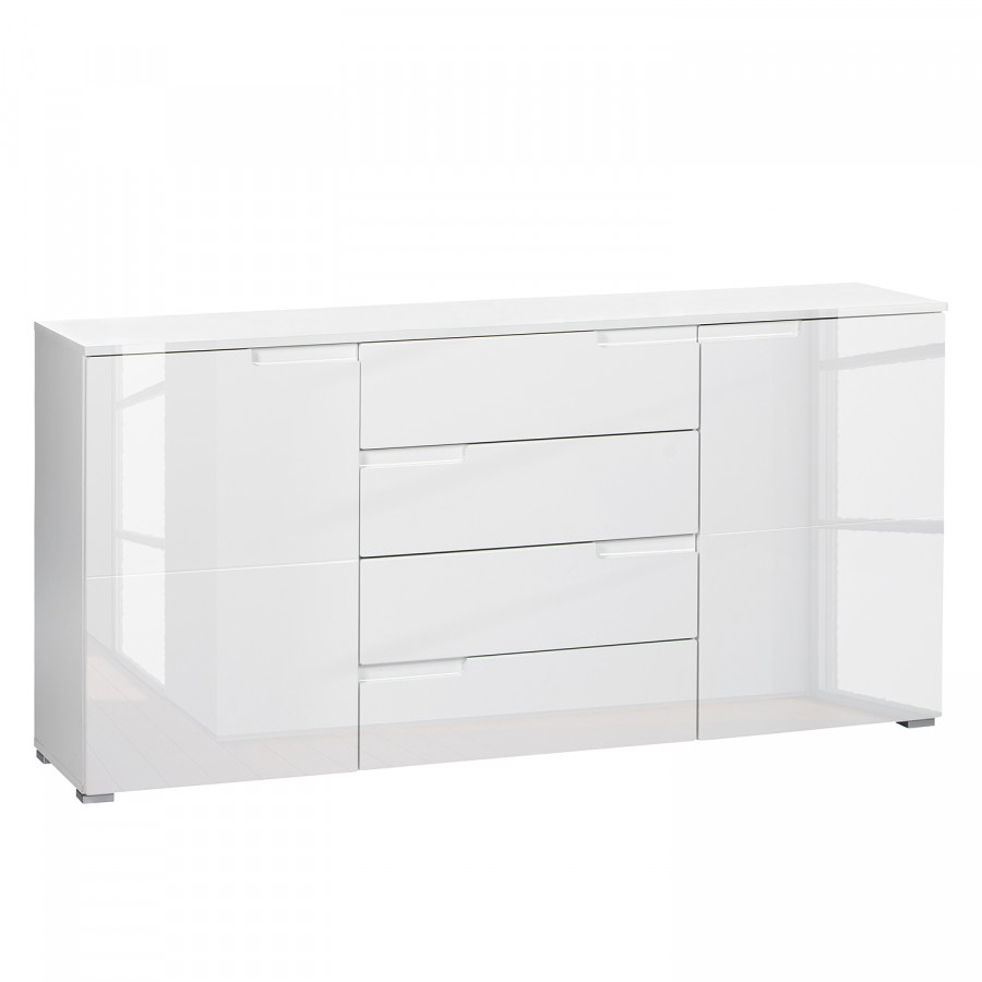 sideboard hochglanz weiss sideboard anrichte oakland no 3. Black Bedroom Furniture Sets. Home Design Ideas