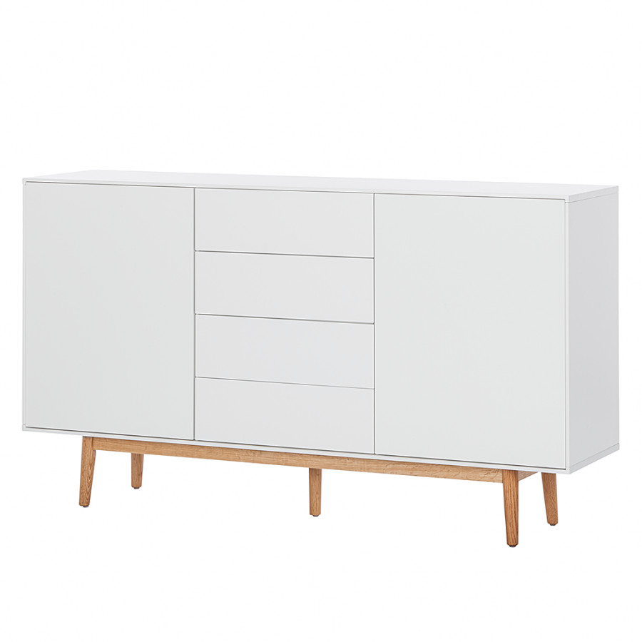 sideboard lindholm iv viel stauraum im nordischen retrolook home24. Black Bedroom Furniture Sets. Home Design Ideas