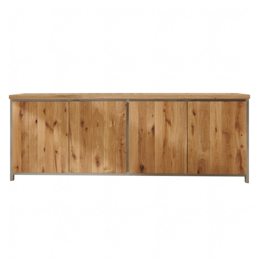 pin sideboard matrix in eiche massiv natur ge lt 140cm breit on. Black Bedroom Furniture Sets. Home Design Ideas