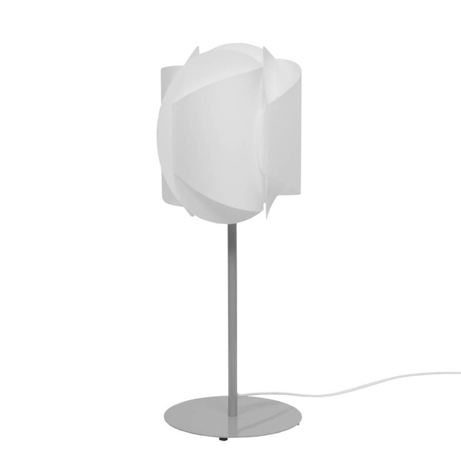lampe de table tango acier blanc. Black Bedroom Furniture Sets. Home Design Ideas