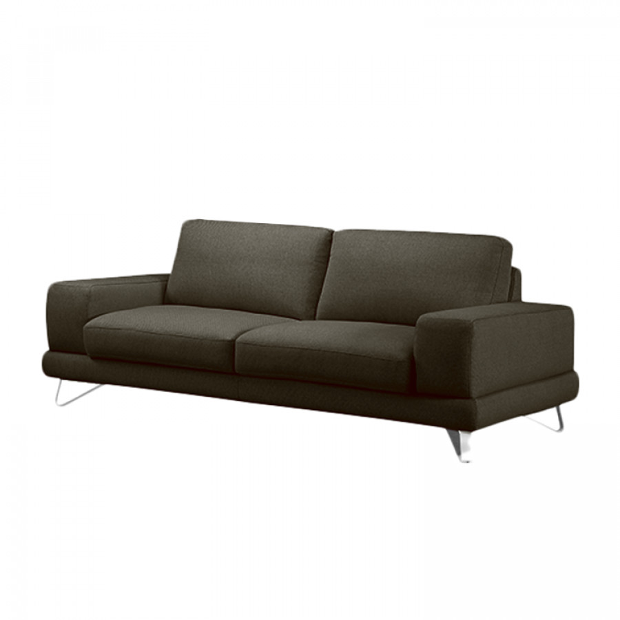 sofa bradley 2 5 sitzer strukturstoff grau braun. Black Bedroom Furniture Sets. Home Design Ideas
