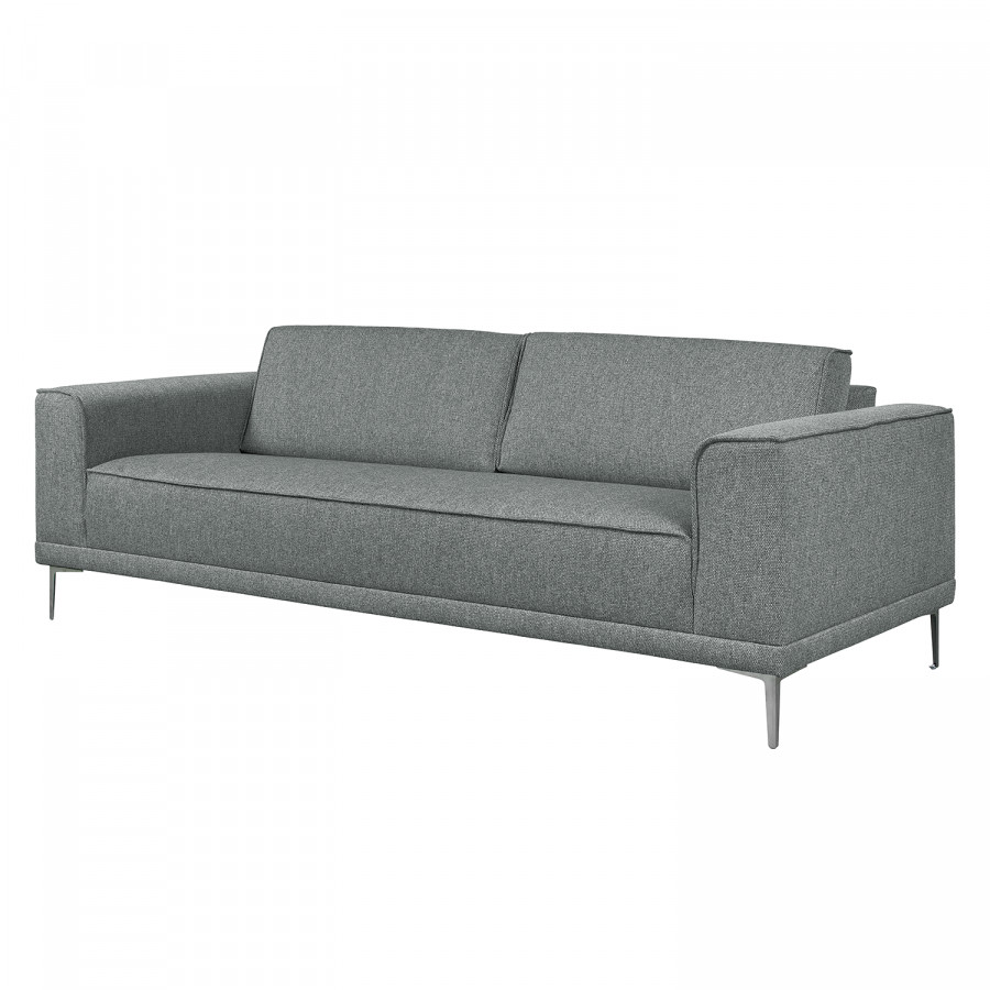 sofa grapefield in grau jetzt als eleganten 3 sitzer bestellen home24. Black Bedroom Furniture Sets. Home Design Ideas