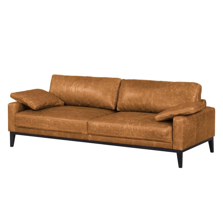 sofa horley 3 sitzer echtleder home24. Black Bedroom Furniture Sets. Home Design Ideas