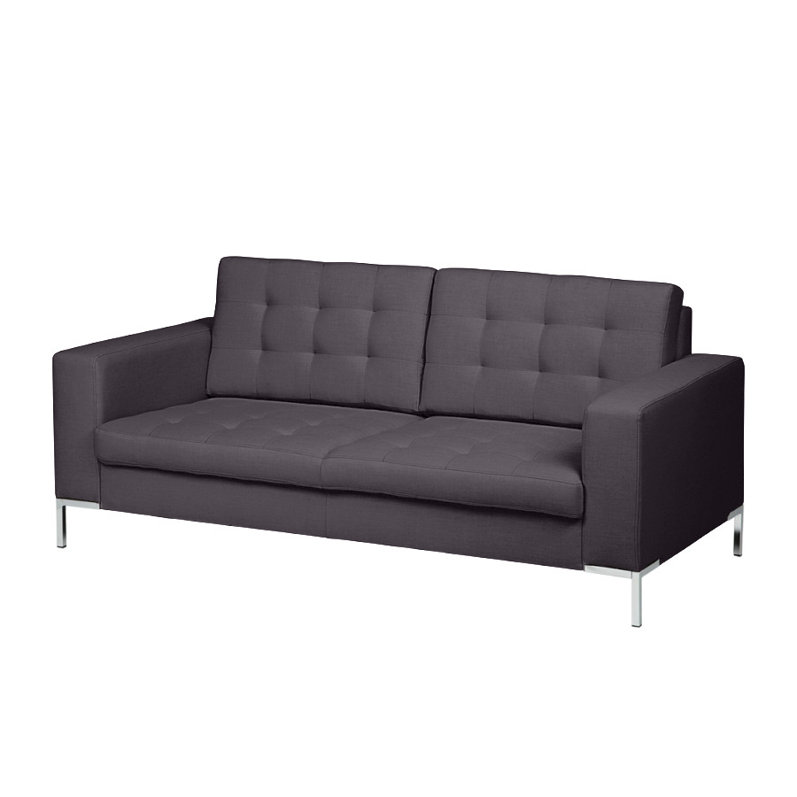 sofa nistra 2 sitzer stoff dunkelgrau home24. Black Bedroom Furniture Sets. Home Design Ideas
