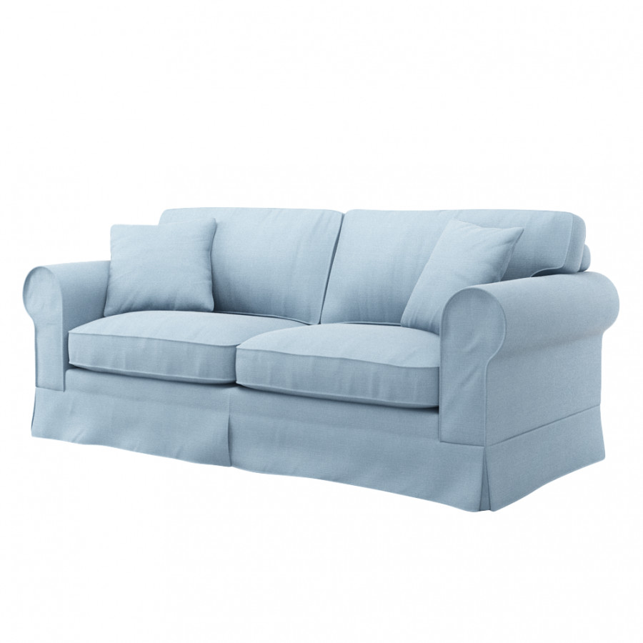sofahusse 3 sitzer ektorp 3 sitzer schlafsofabezug altes modell marinenblau sofahusse ektorp 3. Black Bedroom Furniture Sets. Home Design Ideas