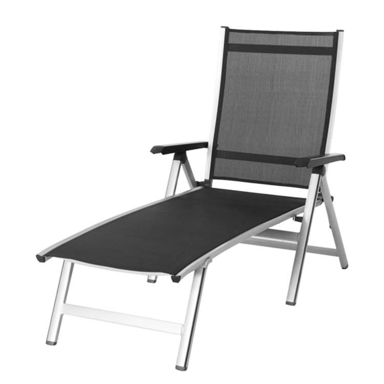 sonnenliege elements aluminium textil anthrazit home24. Black Bedroom Furniture Sets. Home Design Ideas