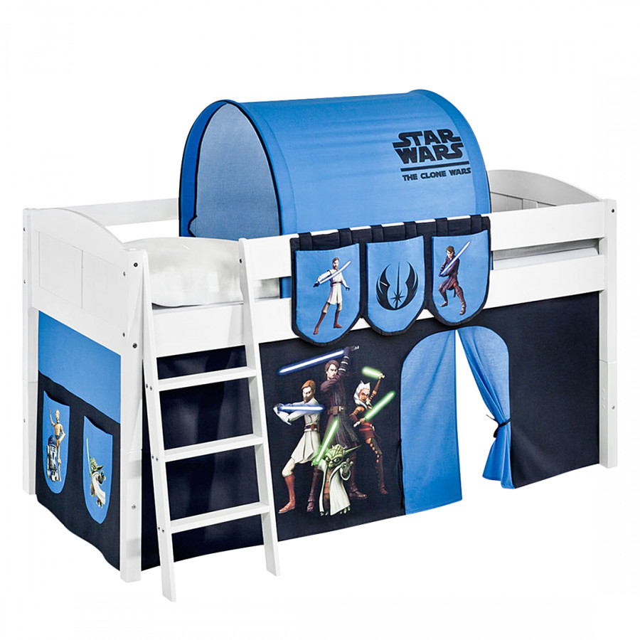 lit mezzanine ludique ida star wars the clone wars lit mezzanine volutif. Black Bedroom Furniture Sets. Home Design Ideas