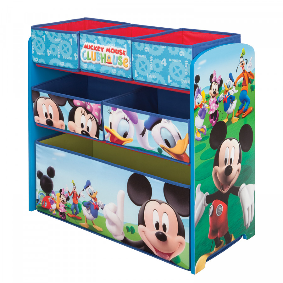 spielzeugregal mickey mouse home24. Black Bedroom Furniture Sets. Home Design Ideas