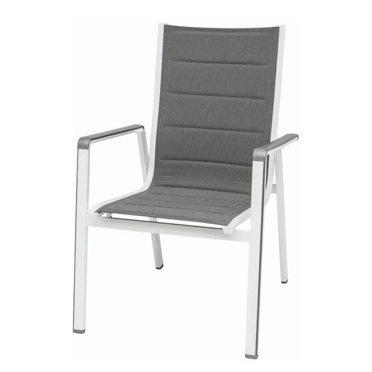 stapelstuhl futosa kunstfaser aluminium home24. Black Bedroom Furniture Sets. Home Design Ideas