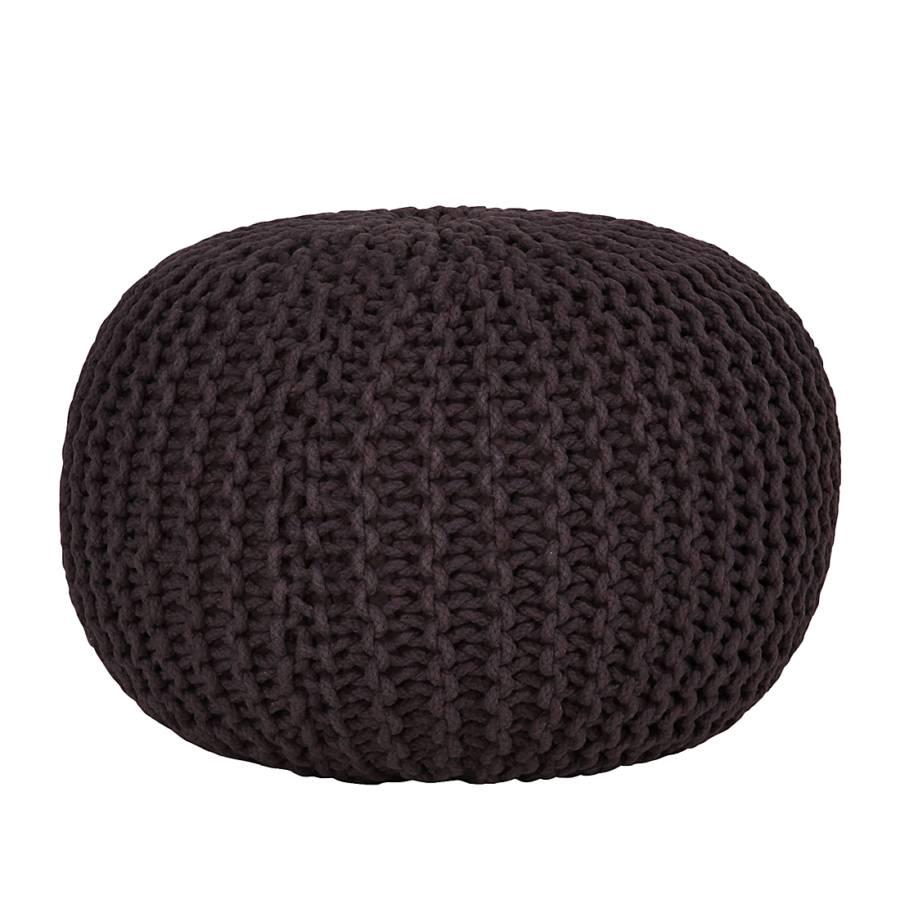 strickpouf stockholm stone home24. Black Bedroom Furniture Sets. Home Design Ideas