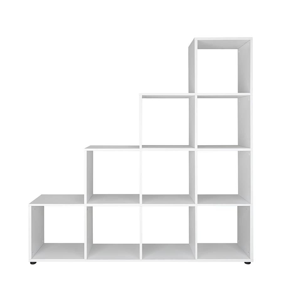 stufenregal stepper ii wei home24. Black Bedroom Furniture Sets. Home Design Ideas