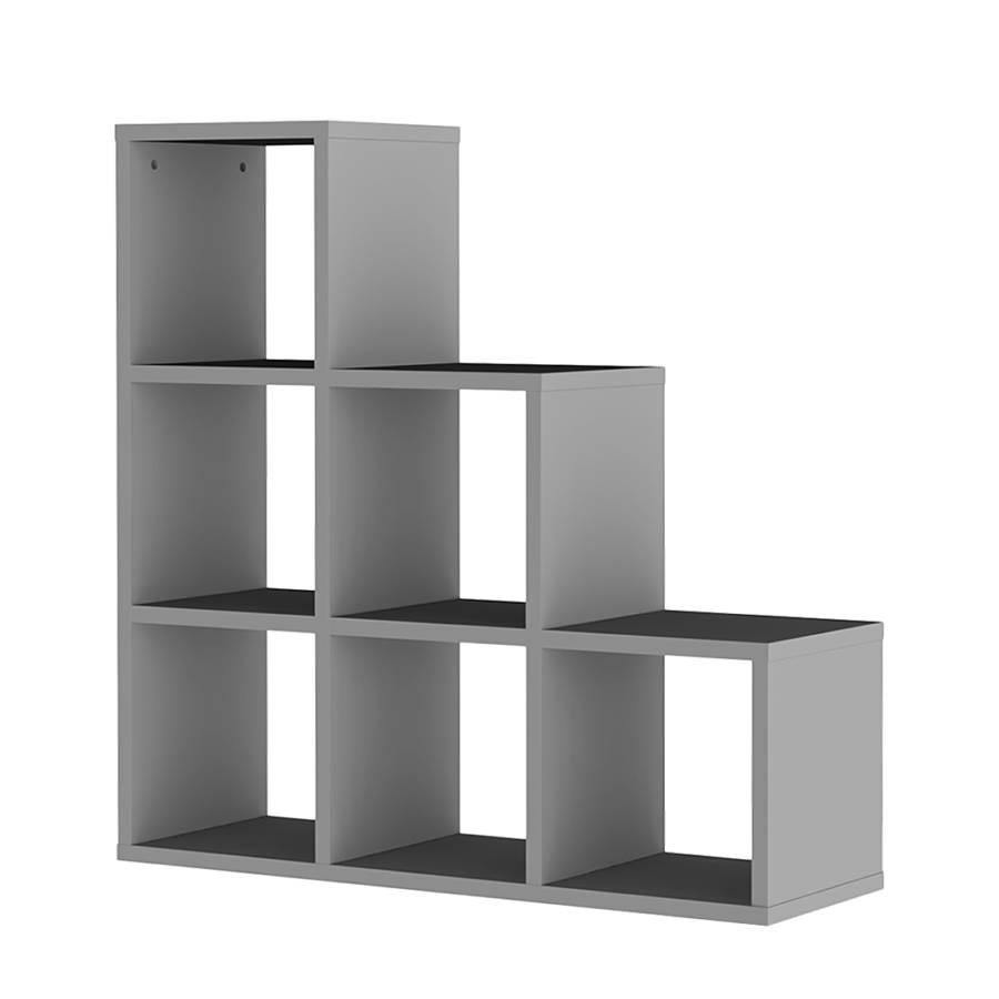 stufenregal tripptrapp box grau home24. Black Bedroom Furniture Sets. Home Design Ideas