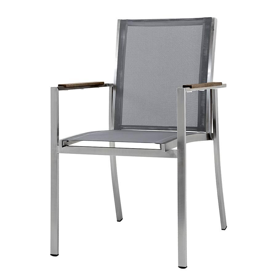 stuhl brevik grau home24. Black Bedroom Furniture Sets. Home Design Ideas