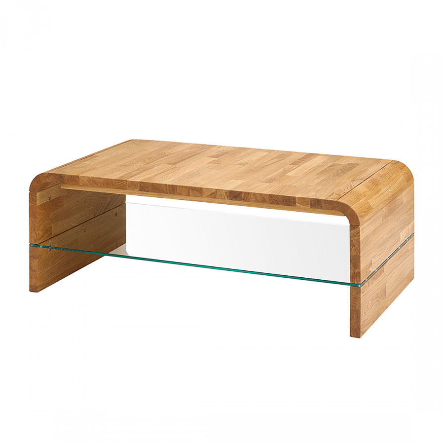 Table basse svendborg ch ne massif huil for Table basse chene massif