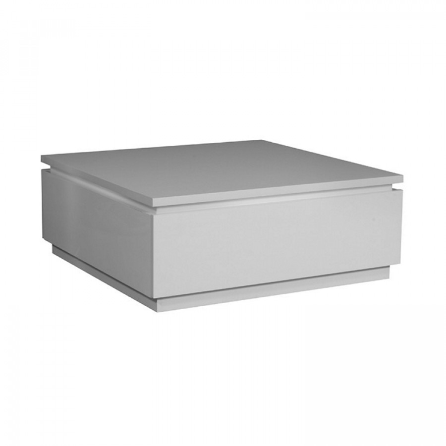 Table basse laque blanche carmen - Table basse laque blanche ...