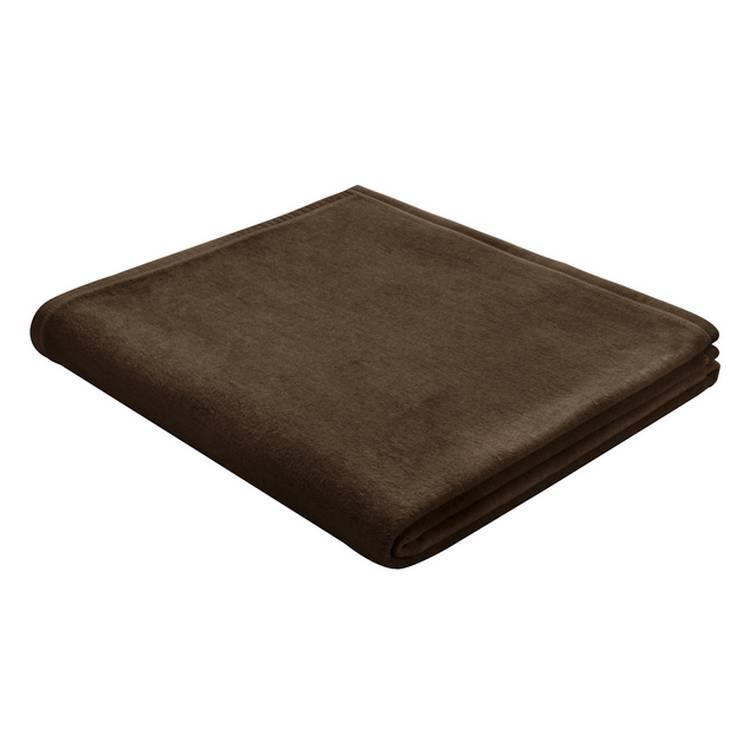 tagesdecke thermosoft dunkelbraun home24. Black Bedroom Furniture Sets. Home Design Ideas