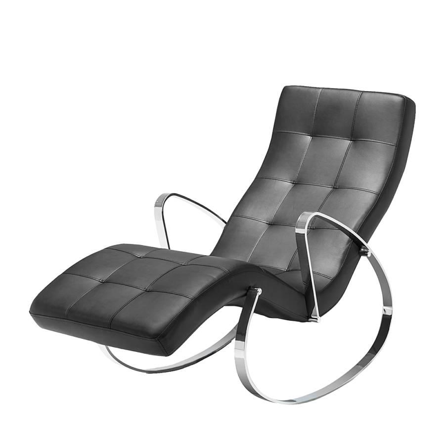 relaxliege tamia kunstleder schwarz. Black Bedroom Furniture Sets. Home Design Ideas