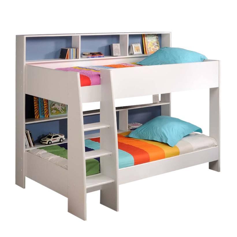 stapelbed tamtam witte opbergvakken. Black Bedroom Furniture Sets. Home Design Ideas