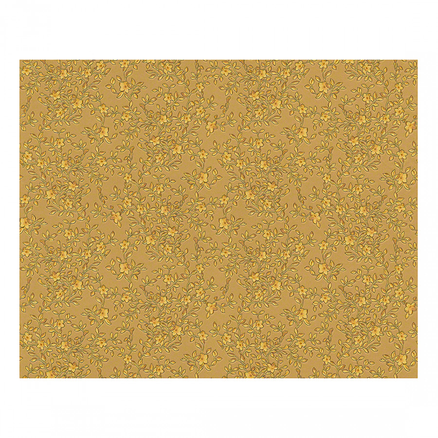 Tapete barocco flowers goldfarben home24 for Tapeten goldfarben