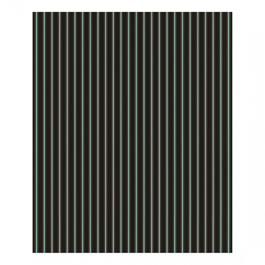 papier peint stripe vert m tallis noir finement. Black Bedroom Furniture Sets. Home Design Ideas
