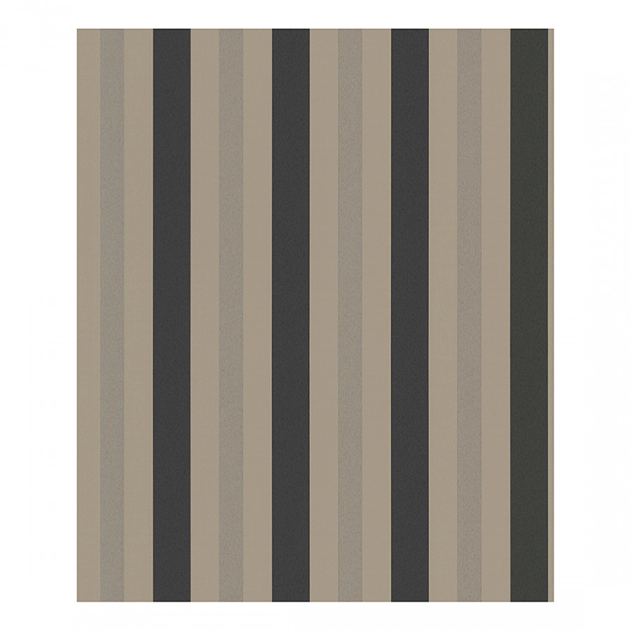 papier peint stripe beige grisaille m tallis. Black Bedroom Furniture Sets. Home Design Ideas