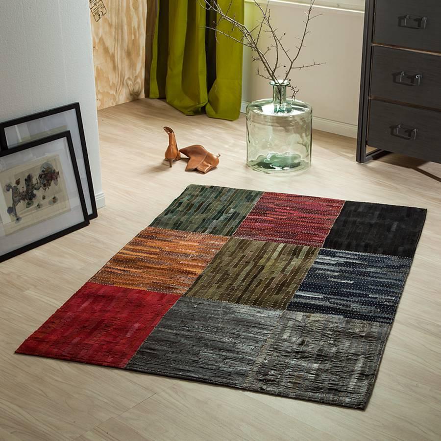 teppich aus wildleder bunt home24. Black Bedroom Furniture Sets. Home Design Ideas