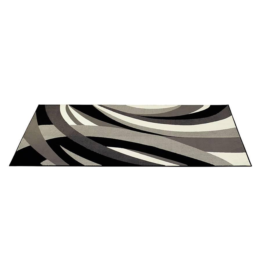 Teppich curves beige schwarz home