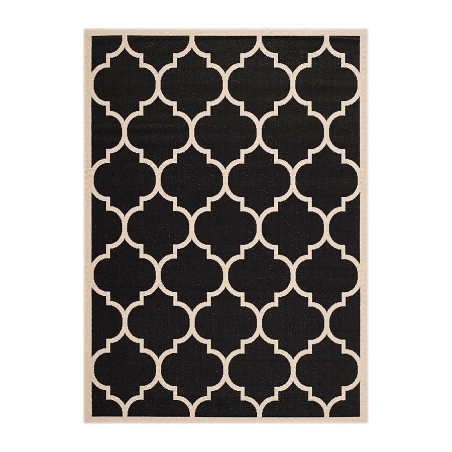 tapis int rieur ext rieur monaco noir beige. Black Bedroom Furniture Sets. Home Design Ideas
