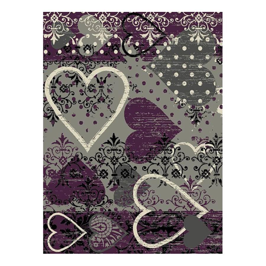 Tapis Prime Pile Violet Gris