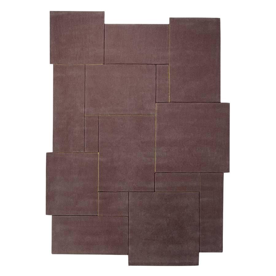 teppich esprit puzzle taupe braun home24. Black Bedroom Furniture Sets. Home Design Ideas
