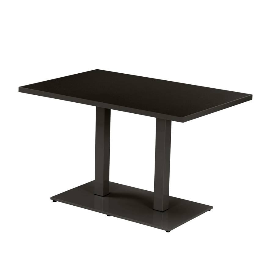 Tisch round stahl home24 for Tisch schwarz