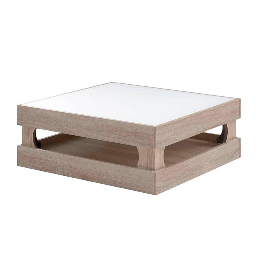 couchtisch trelleborg sonoma eiche hell home24. Black Bedroom Furniture Sets. Home Design Ideas