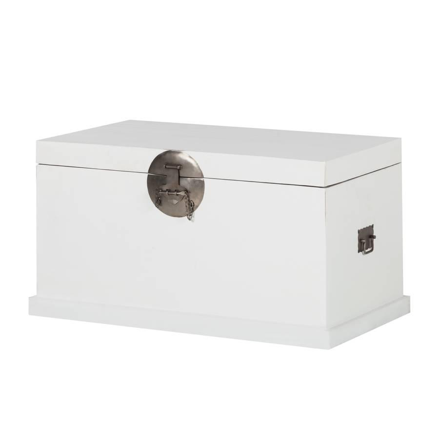 truhe wei ikea truhe peking in wei aus massivholz sitztruhe truhe w schetruhe 84 cm truhen. Black Bedroom Furniture Sets. Home Design Ideas
